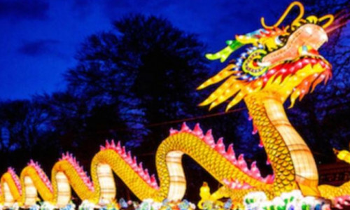 Ohio Chinese Lantern Festival photos